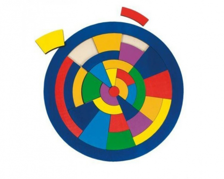 Puzzle circulaire
