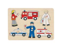 Pompier, policier, secouriste