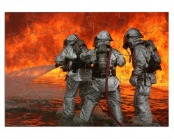 Exercice anti-incendie