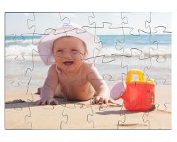 Puzzle 30 pièces à personnaliser avec une photo